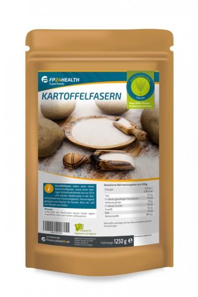 FP24 Health Kartoffelfasern 1250g - wenig Kohlenhydrate - Zippbeutel - Premium Qualität