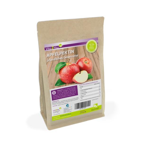 Vita2You Apfelpektin - 200g - pflanzliches Geliermittel - Glutenfrei - pflanzliche Gelatine