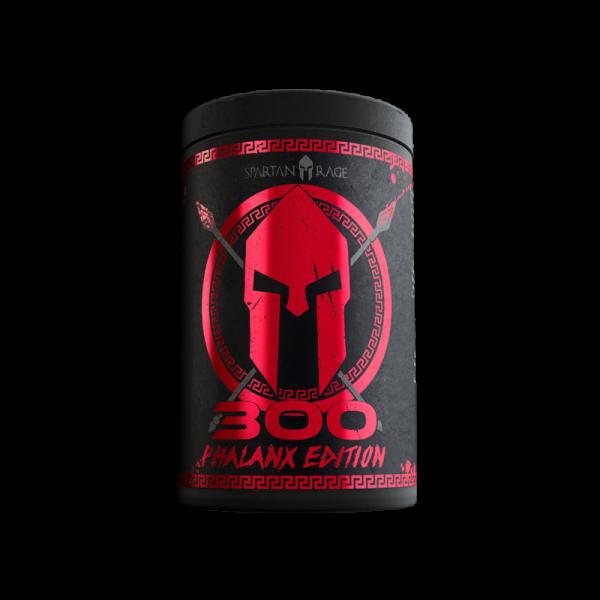 Gods Rage 300 Phalanx Edition 400g - Geschmack War Berry - Spartan Rage - Booster