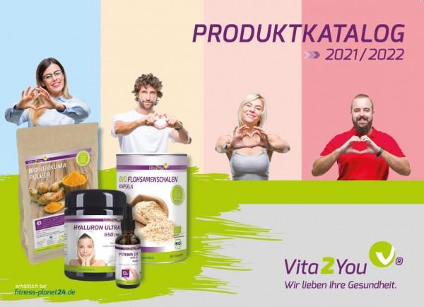 Vita2You Produktkatalog 2021/2022 - NEUE AUFLAGE!