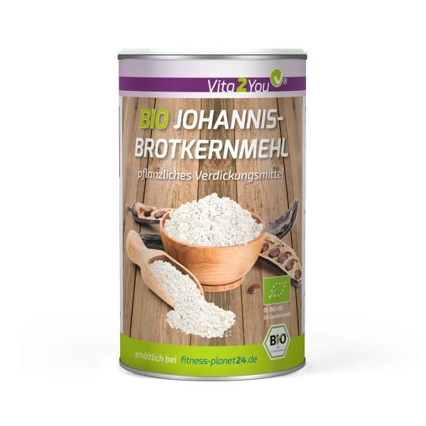 Vita2You Bio Johannisbrotkernmehl 200g - Geliermittel - Ballaststoff - Bindemittel - biologisch