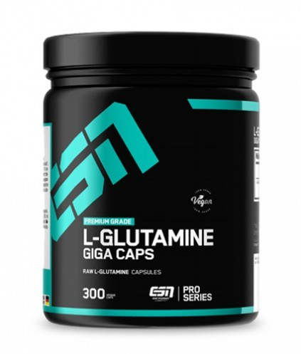 ESN L-Glutamine Giga Caps 300 Kapseln - Aminosäure - Glutamin