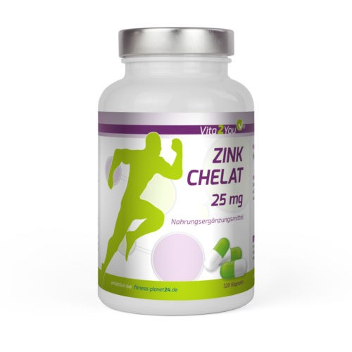 zink chelat von vita2you 25mg pro kapsel fitness planet24