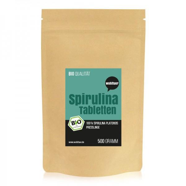Wohltuer Bio-Spirulina 500g Presslinge A Qualität