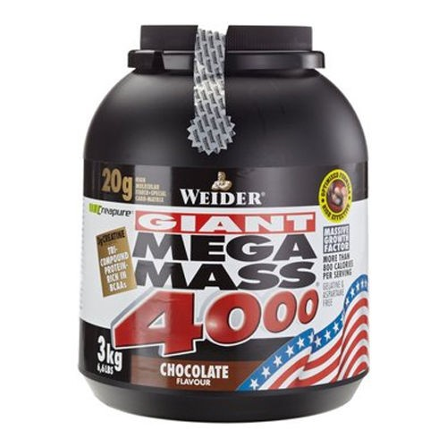 Weider - Mega Mass 4000 3 kg - Weight Gainer