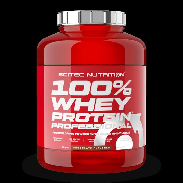 Scitec Nutrition - 100% Whey Professional Protein 2350g Eiweiß