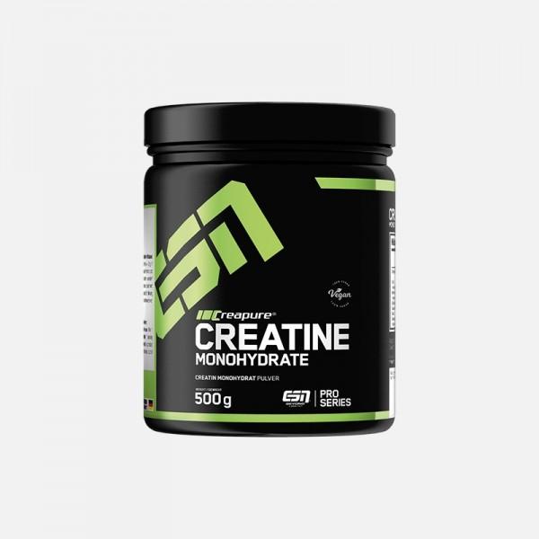 ESN CREAPURE Creatine Monohydrate 500g Dose - Pro Series