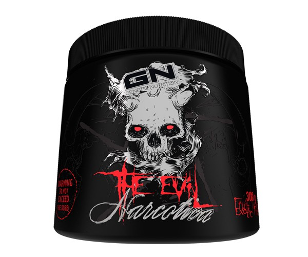 GN Laboratories The Evil Narcotica 250g - Pre-Workou Booster