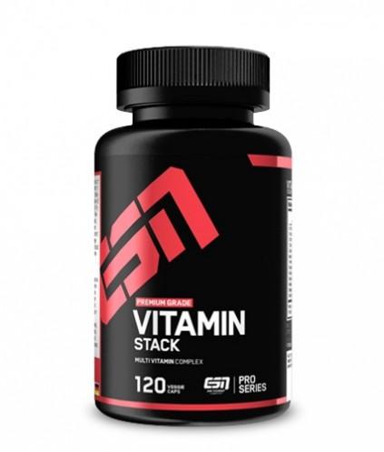 ESN Vitamin Stack 120 Kapseln - Vitamine und Mineralien