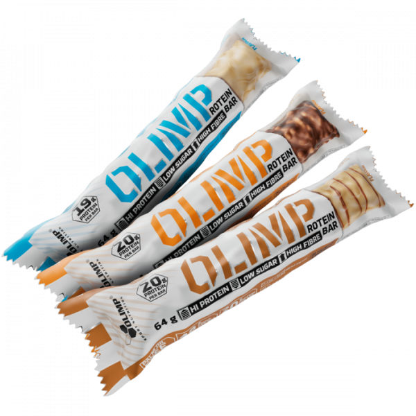 Olimp Protein Bar 12 x 64g - Eiweissriegel - 20g Proteine pro Riegel - MHD 31.12.2019