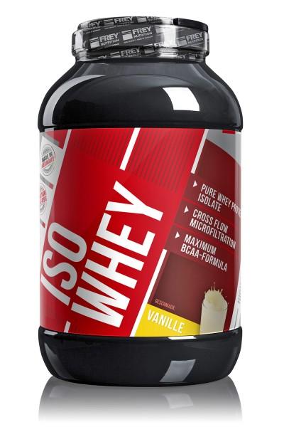 Frey Nutrition Iso Whey 2300g - Whey Protein - Isolate Eiweiss - Premium Qualität