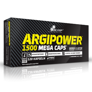 Olimp - ArgiPower 1500mg L- Arginine 120 Kapseln - Aminosäuren