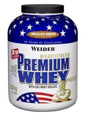 Weider - Premium Whey Protein 2300g Dose Eiweiß