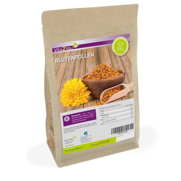 Vita2You Blütenpollen 200g - 100% natürlich - Premium Qualität