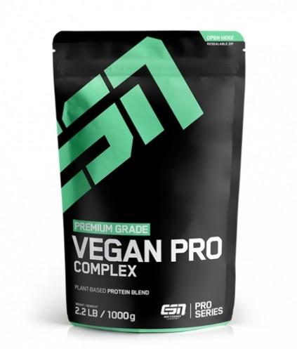 ESN Vegan Pro Complex 1000g Standbeutel - pflanzliche Proteine - Veganes Eiweiss