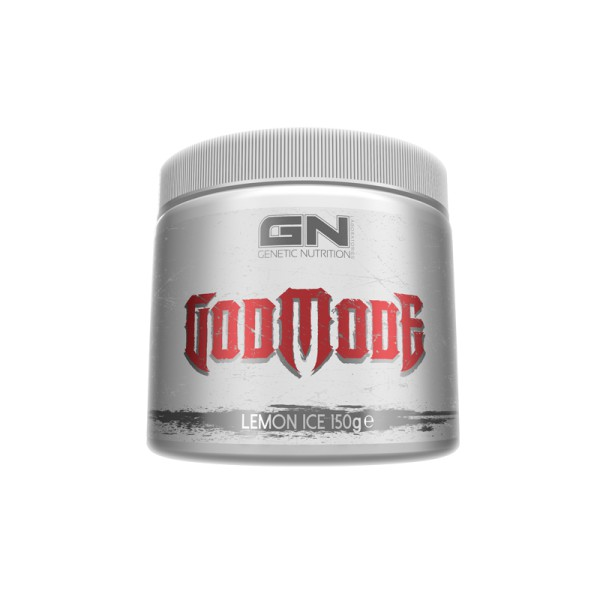 GN Laboratories GodMode 150g - Pre-Workout-Booster - Lemon Ice