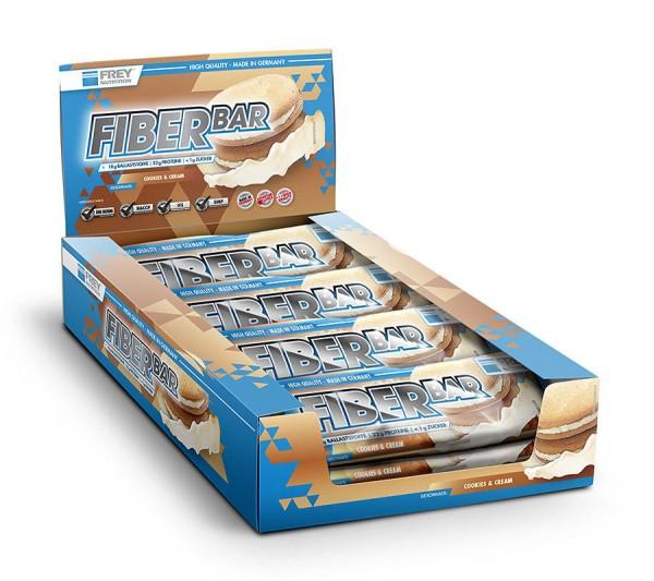 Frey Nutrition - Fiber Bar Protein Riegel 12x60g