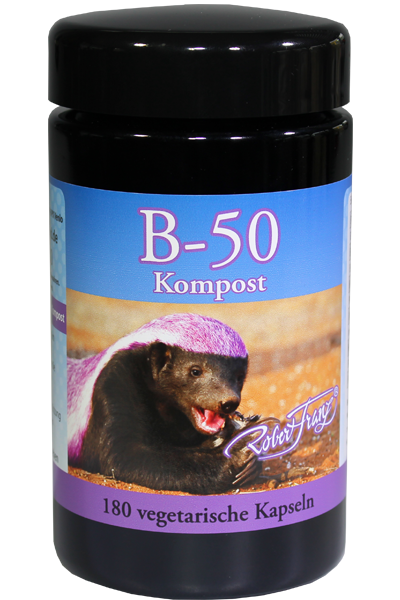 Robert Franz Vitamin B 50 Kompost 180 vegane Kapseln