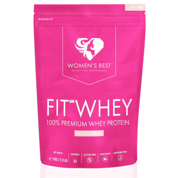 Womens Best Fit Whey Protein 1000g - Proteine - Eiweiss