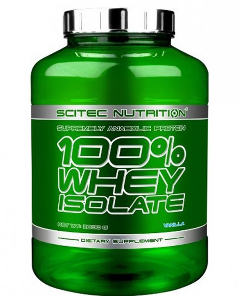 Scitec Nutrition - 100% Whey Isolate Protein 2000g Eiweiß